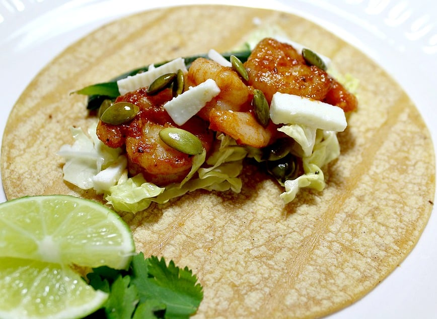 Too Busy To Make Dinner - Shrimp Tacos