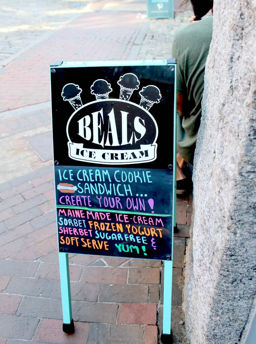 Beal's Ice Cream Portland, ME