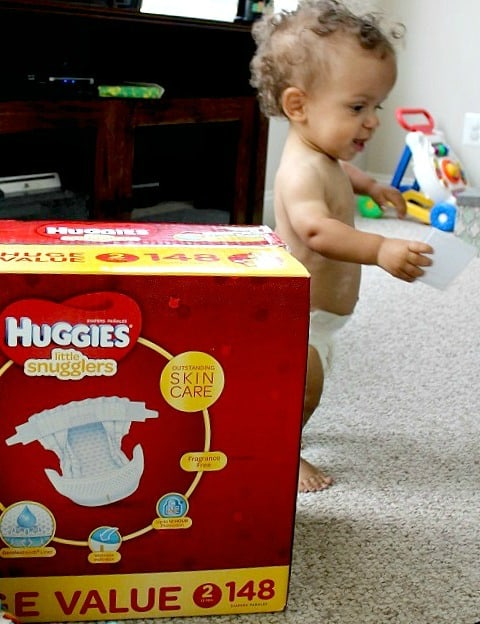 Baby on the Move with Huggies