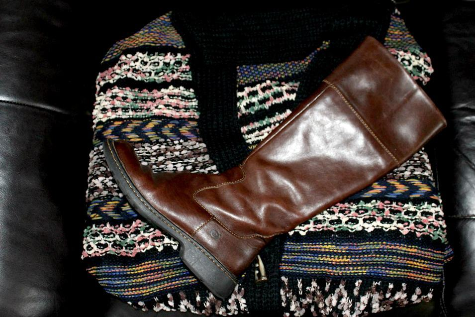 Fall Favorites - Sweaters and Boots