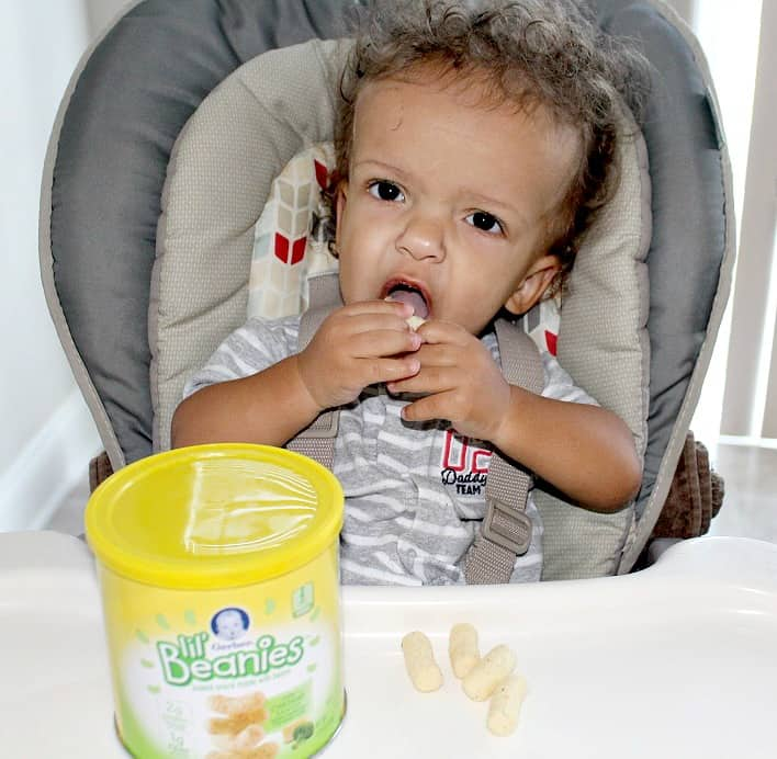 Busy Toddler Snack Ideas