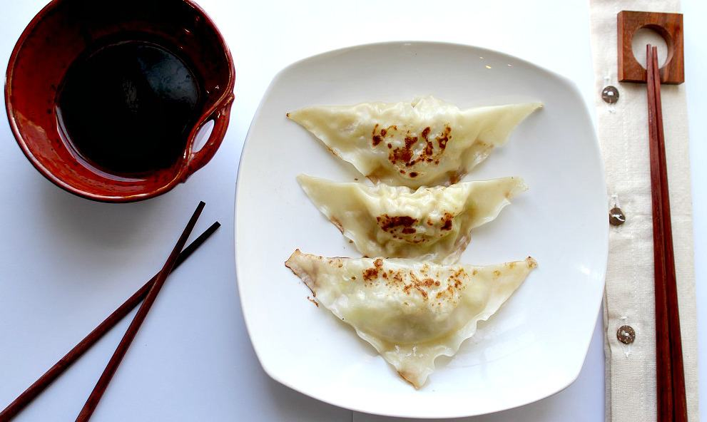 Easy Chicken Potstickers