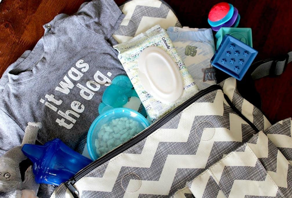 Toddler Diaper Bag Necessities