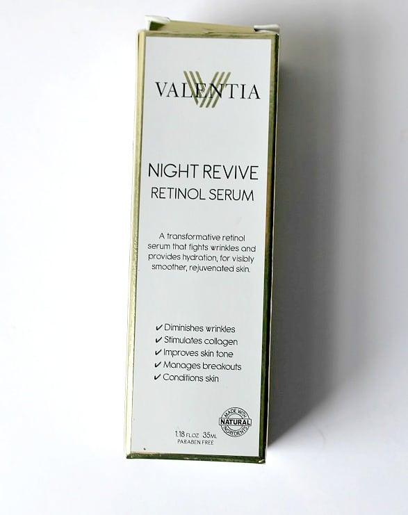 Valencia Night Revive Retinol Serum