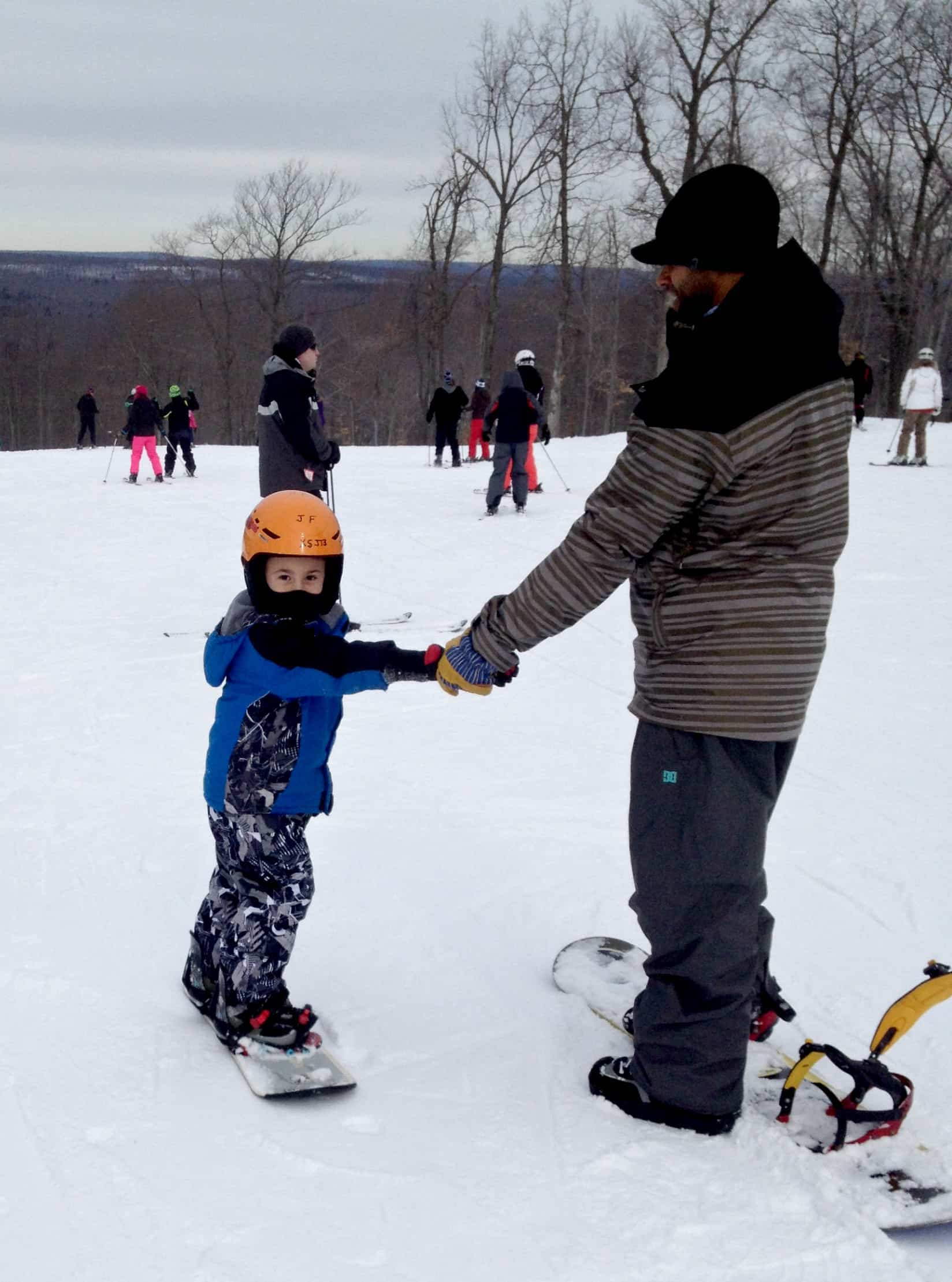 Poconos winter family Vacation
