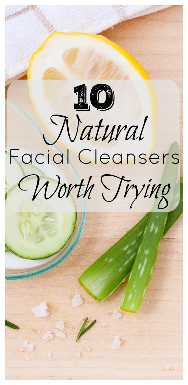 Looking for an amazing natural facial cleanser but unsure where to start? These 10 Natural Facial Cleansers are suitable for all skin types and needs. They are all worth your time and money trying | www.DeliciousLittleBites.com