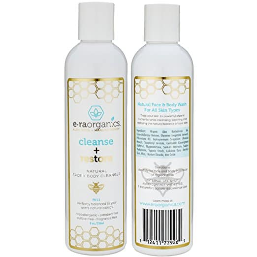 Era Organics Natural Facial Cleanser