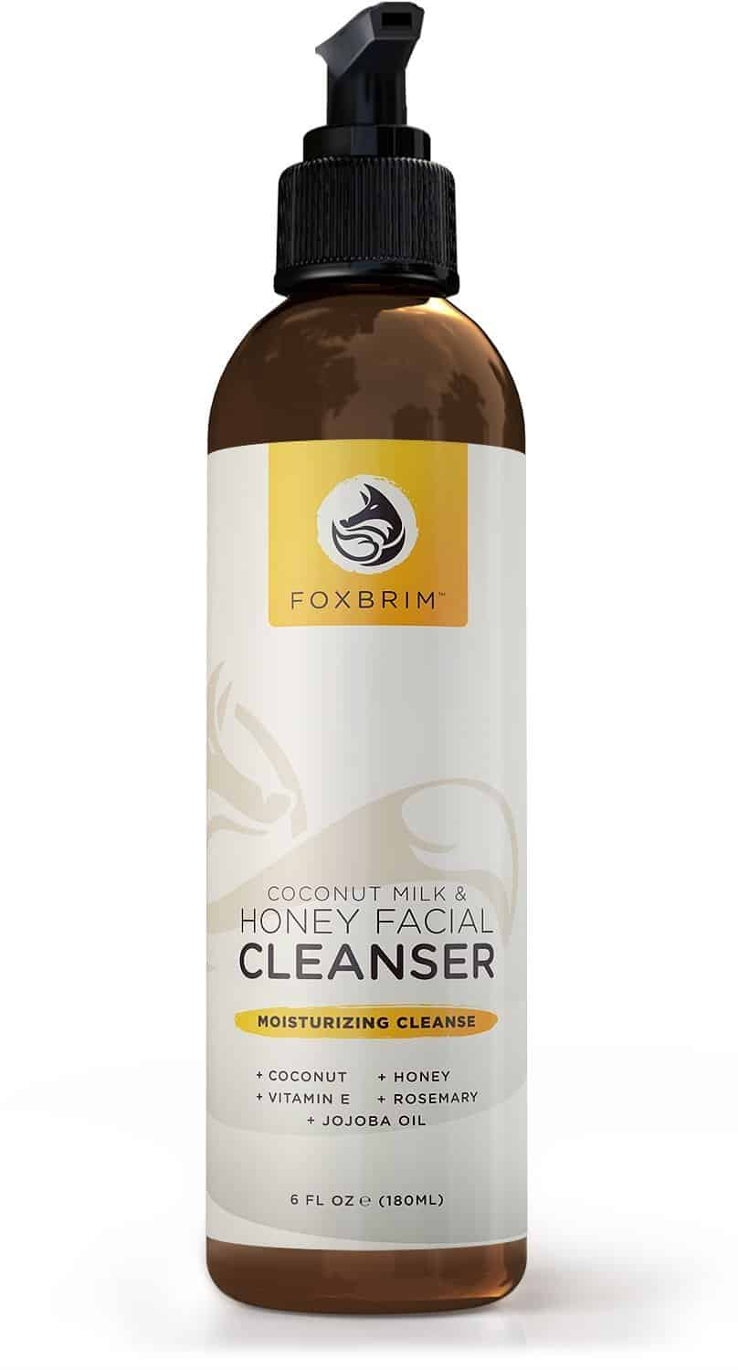 Foxbrim Coconut Milk and Honey Facial Cleanser