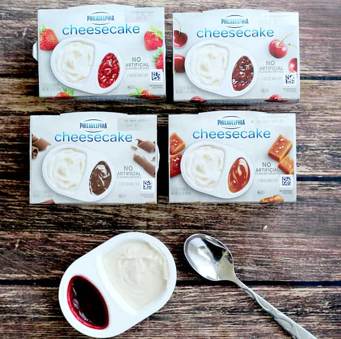 Secret snacking just got even more indulgent with these Philadelphia Cheesecake Cups!