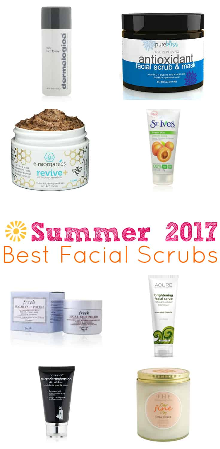 Using a facial scrub leaves your skin smoother, younger looking, and brighter! Most are even anti-aging! These are 10 of the best facial scrubs with some of the highest ratings among consumers!