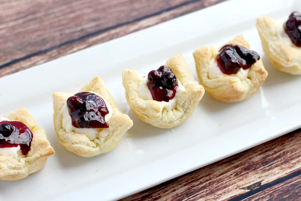 Puff Pastry Cups filled