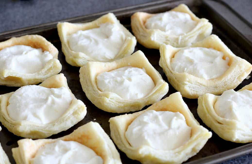 Fill Puff Pastry Cups with No-Bake Lemon Cheesecake
