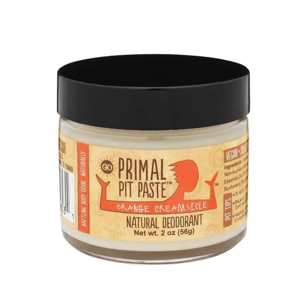 Orange Creamsicle Primal Pit Paste