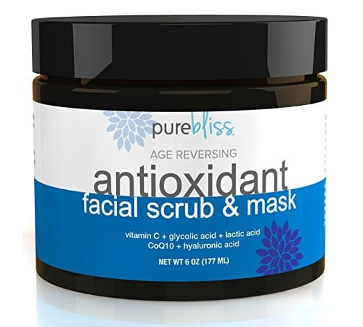 Pure Bliss Antioxidant Face Scrub and Mask