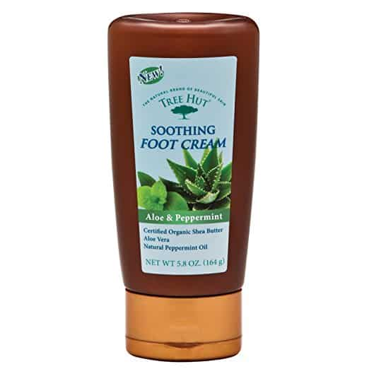 Tree Hut Aloe and Peppermint Foot Cream