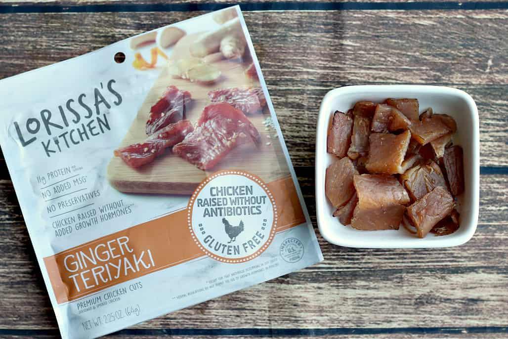 Lorissa's Kitchen Ginger Teriyaki meat snacks