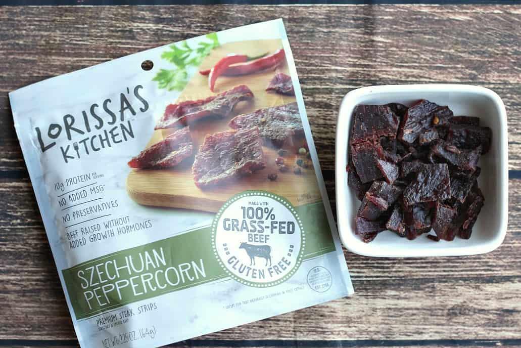 Lorissa's Kitchen Szechuan Peppercorn meat snacks