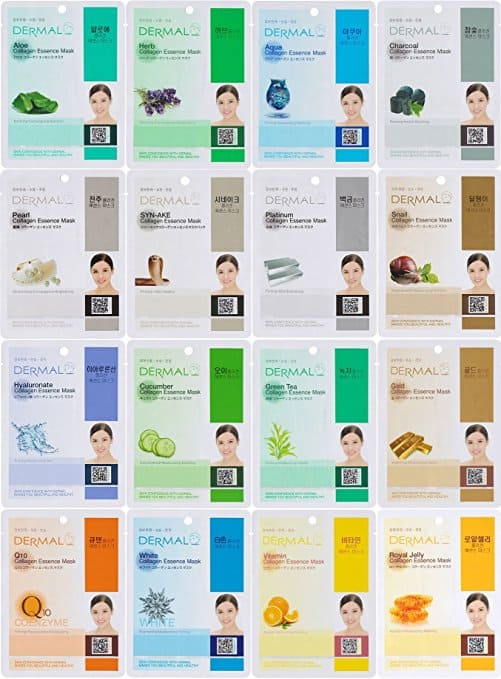 Dermal Korea Sheet Masks
