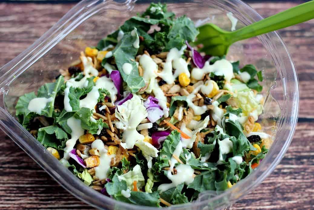 Eat Smart Avocado Ranch Salad Shake Up