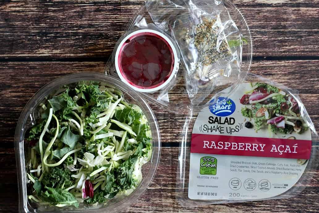Eat Smart Raspberry Acai Salad Shake Up