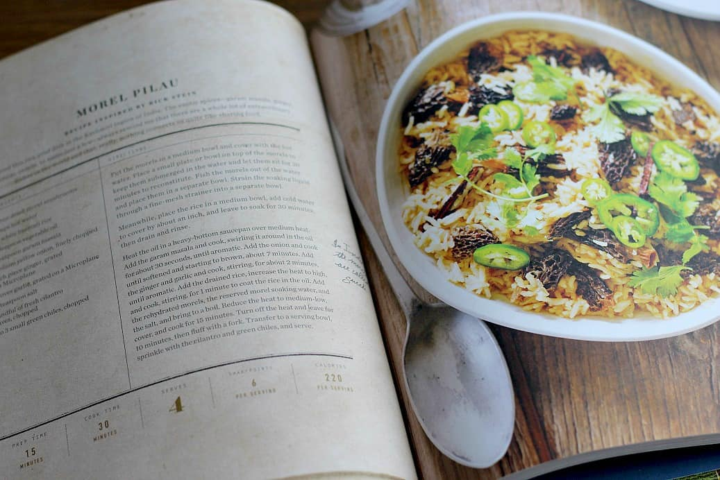Page from Oprah's Cookbook