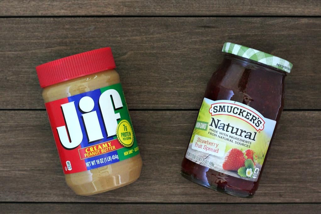 Jif Peanut Butter and Smucker's Fruit Spread