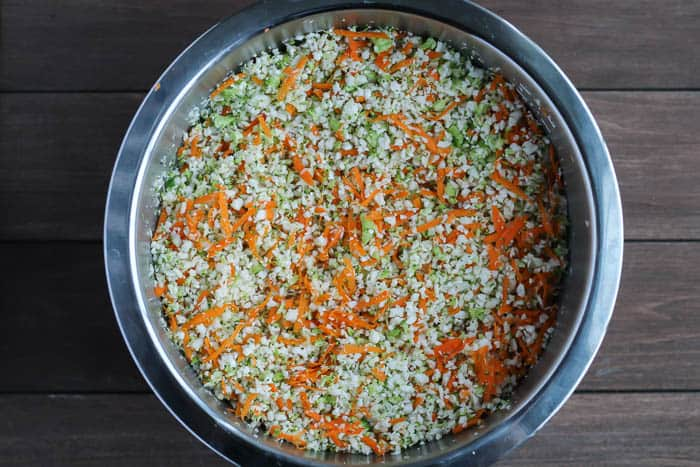 Chopped Vegetables Ready for Making Soup