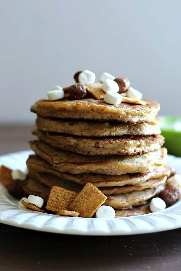 Finished Honey Maid S'mores Pancakes