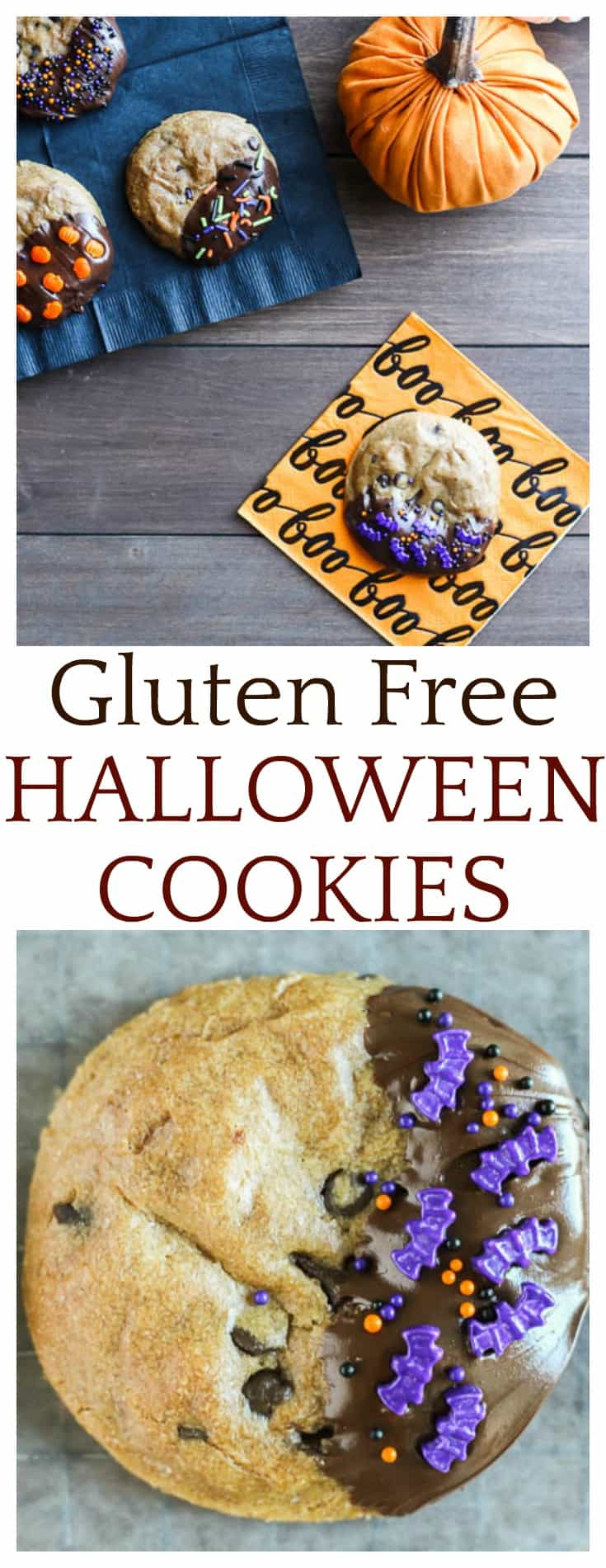 Keep all your ghosts and ghouls happy with these Gluten Free Halloween Cookies! I use Immaculate Baking Company's refrigerated dough so that making these Halloween treats is a snap! Who doesn't love fresh baked cookies?