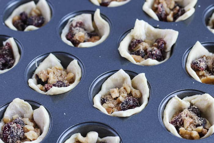 Fill Puff Pastry Cups Before Baking