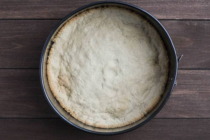 Baked Almond Crust