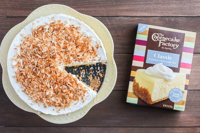 Cheesecake with The Cheesecake Factory Original Cheesecake Mix