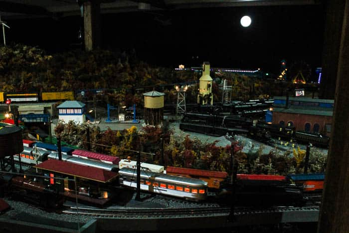 A Brandywine Christmas Train Display