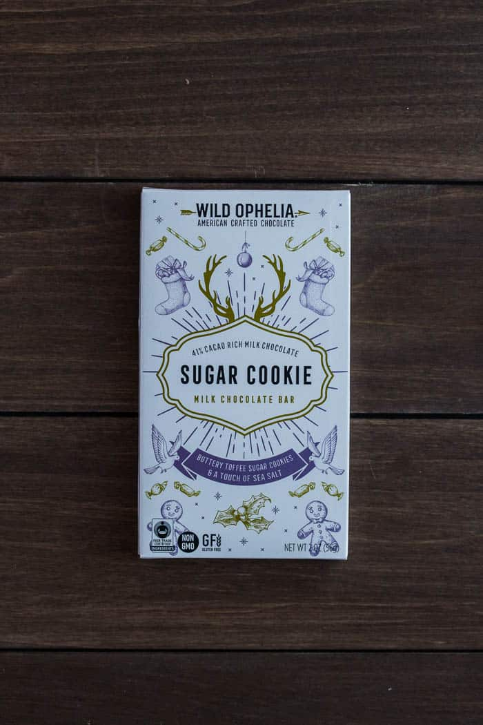 Wild Ophelia Sugar Cookie Chocolate Bar