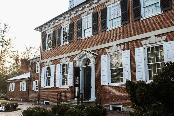 The Corbit-Sharp House in Historic Odessa, Delaware