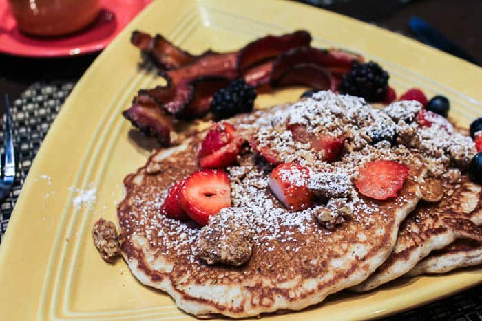 Las Ventanas Whole Wheat Pancakes