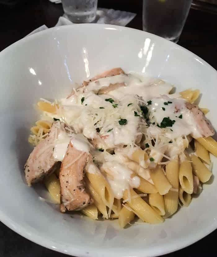 Mama Melrose Wood-grilled Chicken and Penne Pasta