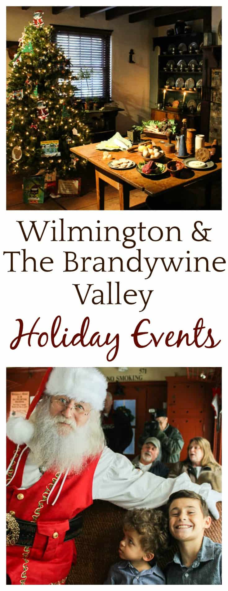 The 2017 Wilmington and The Brandywine Valley Holiday Attractions are sure to bring delight to all those who visit! | #visitwilm #sponsored #wilmington #delaware #brandywine #brandywinevalley #travel #holidayevents #christmas