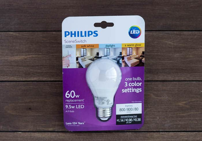 Philips Scene Switch LED Light Bulb