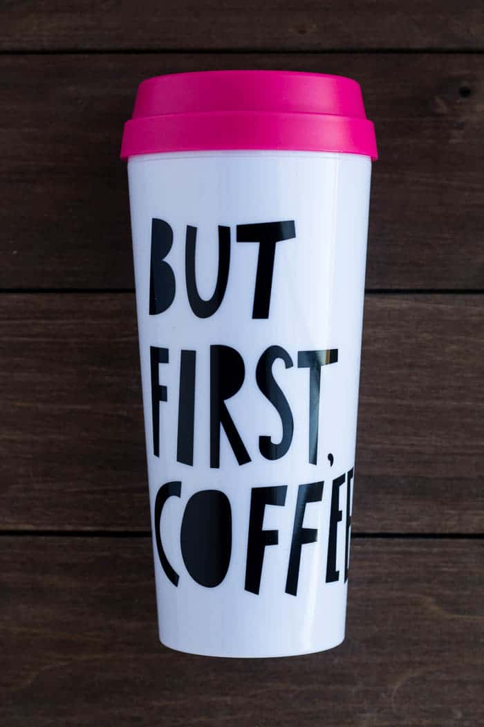 But First Coffee Thermal Travel Mug