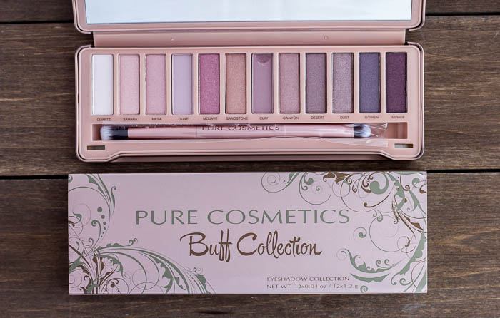 Pure Cosmetics Buff Collection Eye Shadow Palette