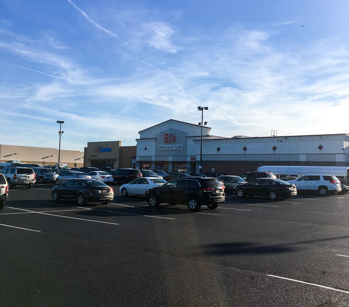Outside View of BJ's Wholesale