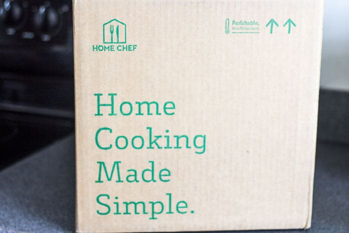 January 2018 Home Chef Subscription Box Review #3 Box