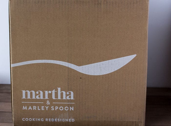 January 2018 Martha & Marley Spoon Review Box
