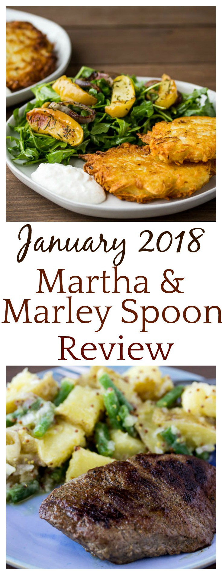 Interested in trying meal kit subscriptions? Definitely check out this Martha & Marley Spoon Review! The recipes were amazing! | #marthamarleyspoon #marleyspoon #mealkits #subscriptionbox #mealkitreview