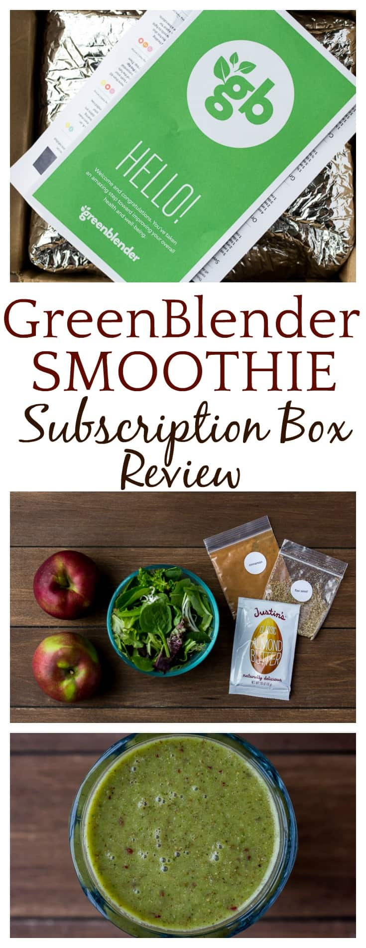 Love smoothies? Trying to incorporate more healthy fruits and vegetables in your diet? Then you must check out this February 2018 GreenBlender Review! GreenBlender is a smoothie subscription box that sends everything you need to make healthy, delicious smoothies at home! | #smoothies #smoothie #subscriptionbox #vegetarian #healthyfood #vegan