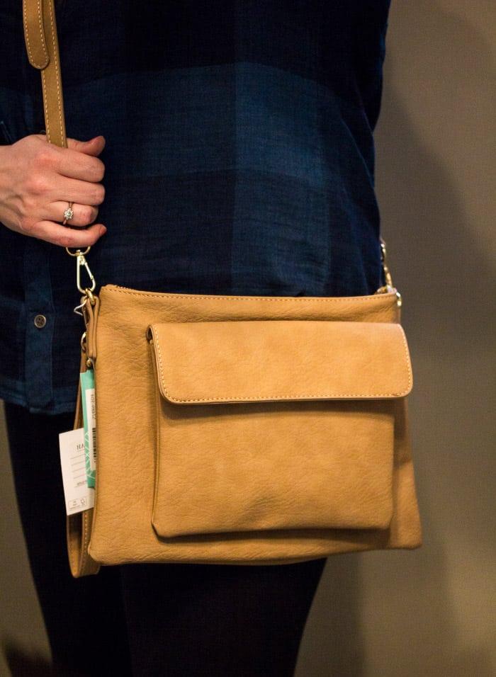 Stitch Fix Shiraleah Jesse Crossbody Bag On For Sizing Reference
