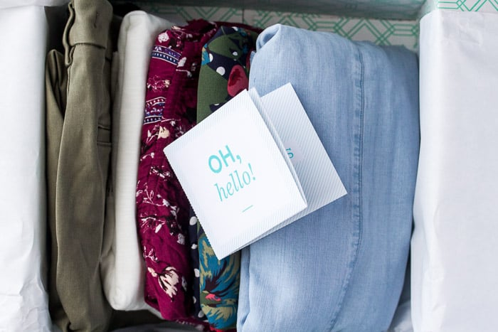March 2018 Stitch Fix Review Box