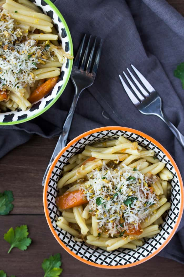 Martha & Marley Spoon Pan Roasted Carrot Pasta
