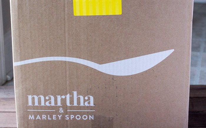 March 2018 Martha Marley Spoon Review Box